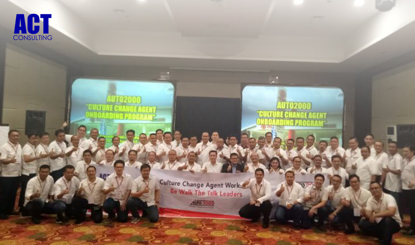 ACT Consulting Auto 2000 | pelatihan motivasi karyawan | Training Culture Change Agent | budaya organisasi | konsultan budaya | training motivasi karyawan