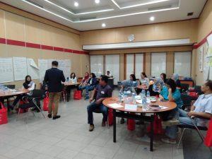 training building integrity, cimb niaga, act consulting, rendy yusran