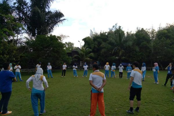 Outbound Training Ice Breaking Bank Kaltim