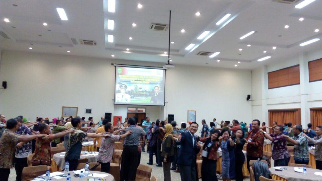Team Building & Revolusi Mental Pemrov Kalimantan Timur