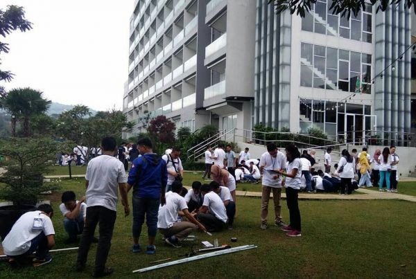 Outbound Training Perusahaan Nestle