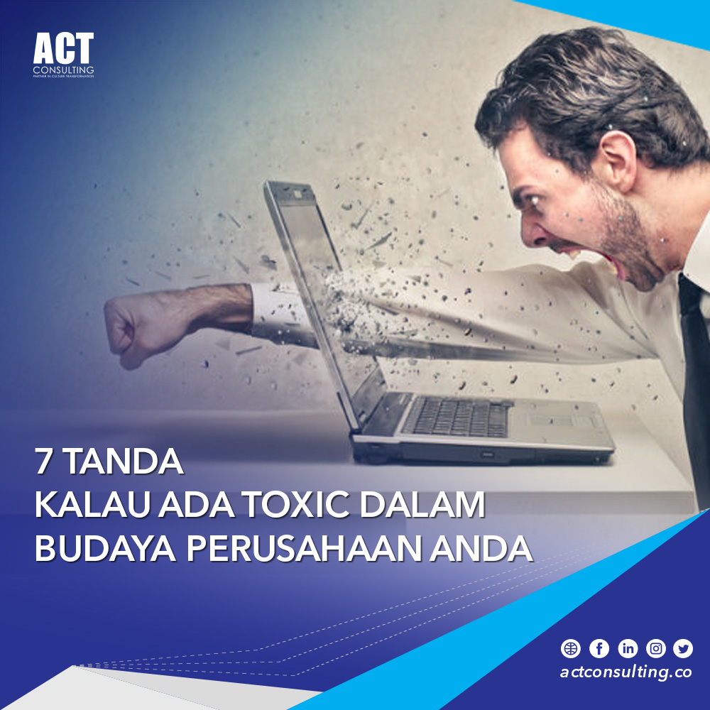 toxic dalam budaya perusahaan
