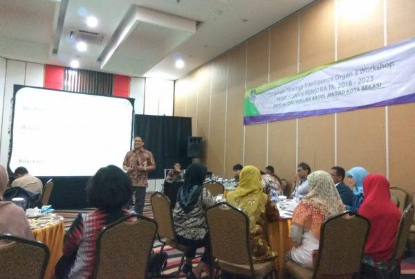 workshop corporate strategic intelligence, act consulting, csi organ 3, rsud bekasi