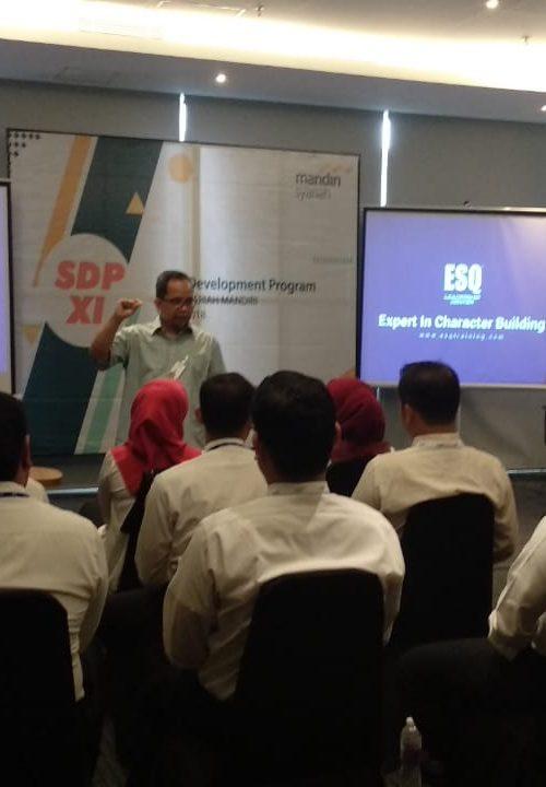 training spiritual leadership, bank syariah mandiri, act consulting