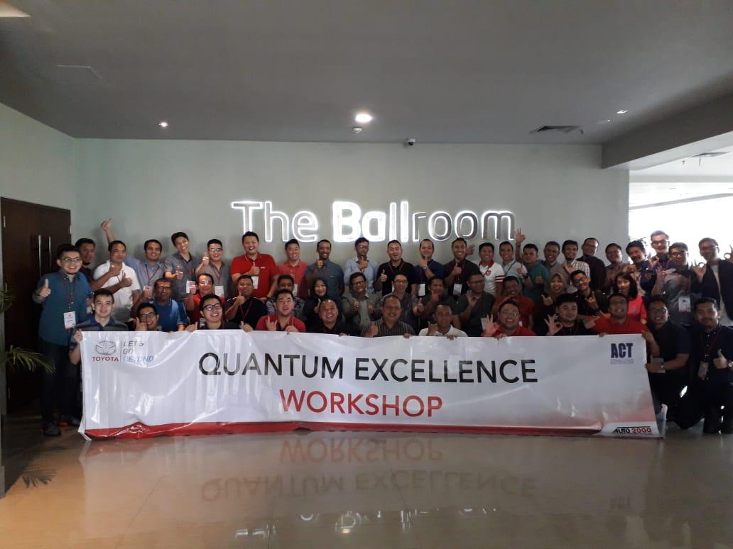 workshop quantum excellence, auto 2000, act consulting, esq training, bram wibisono