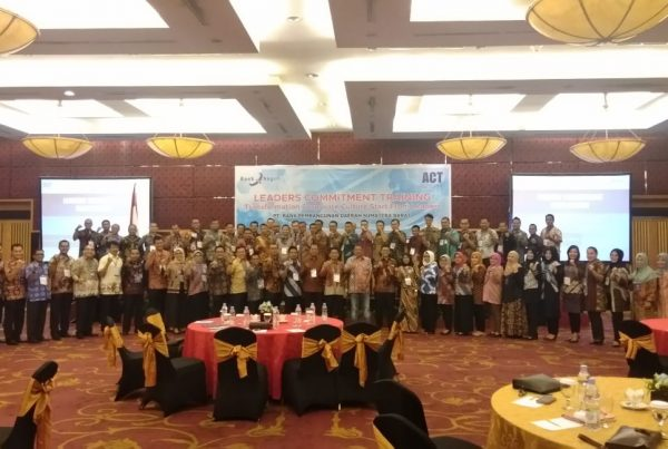 leaders commitment workshop, bank nagari, act consulting