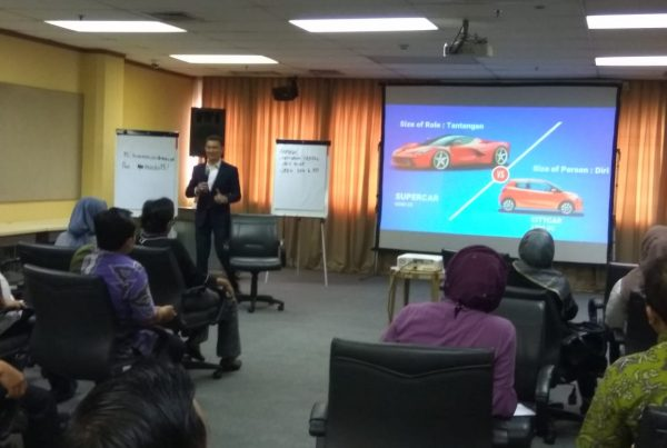leadership mental building training, bank mandiri, act consulting