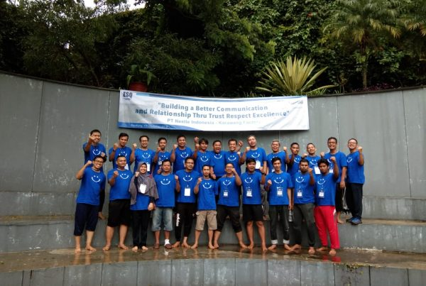 outbond capacity building, act consulting, nestle indonesia