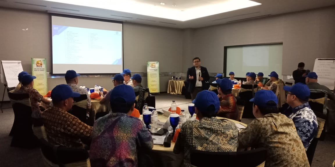 training agent of change, mitsui leasing capital indonesia, act consulting