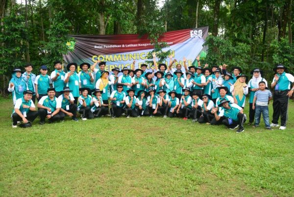 outbond communication for service excellent, act consulting, balai diklat keagamaan denpasar