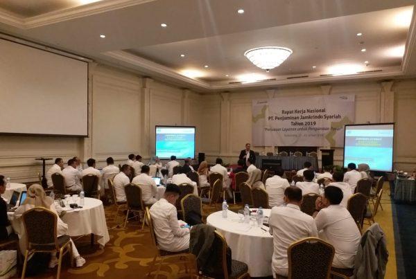 seminar motivasi berbasis core values, jamkrindo syariah, act consulting