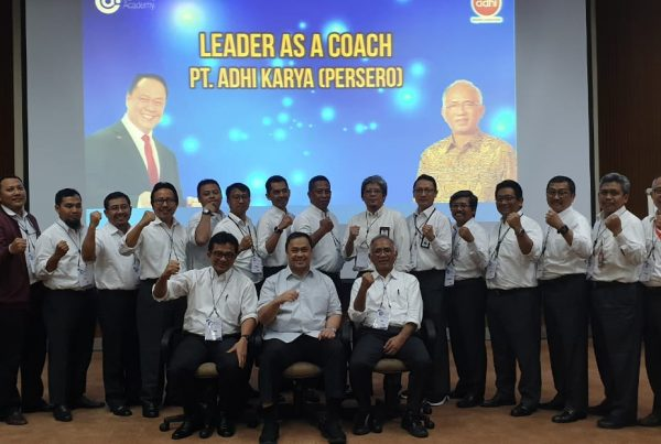 training leader as coach, pt adhi karya, act consulting, ary ginanjar