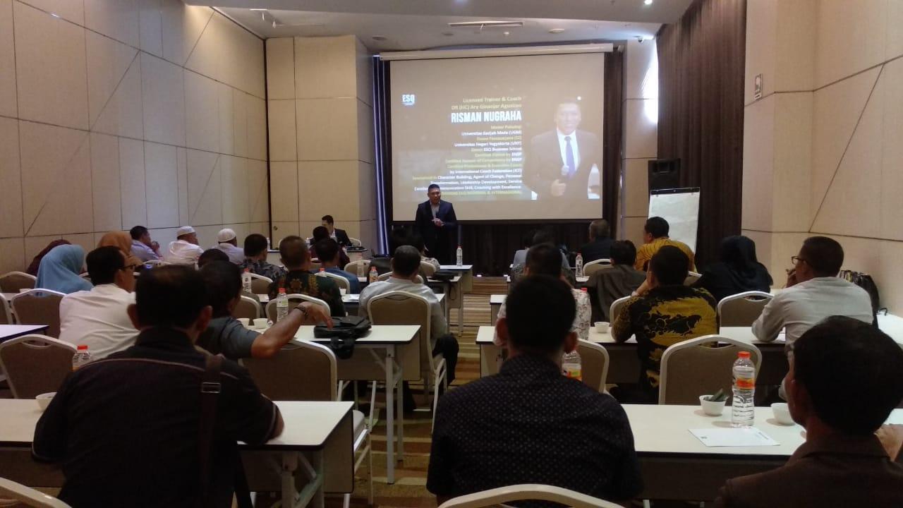 training emotional & spiritual quotient, dprd musi rawas, dprd padang panjang, act consulting