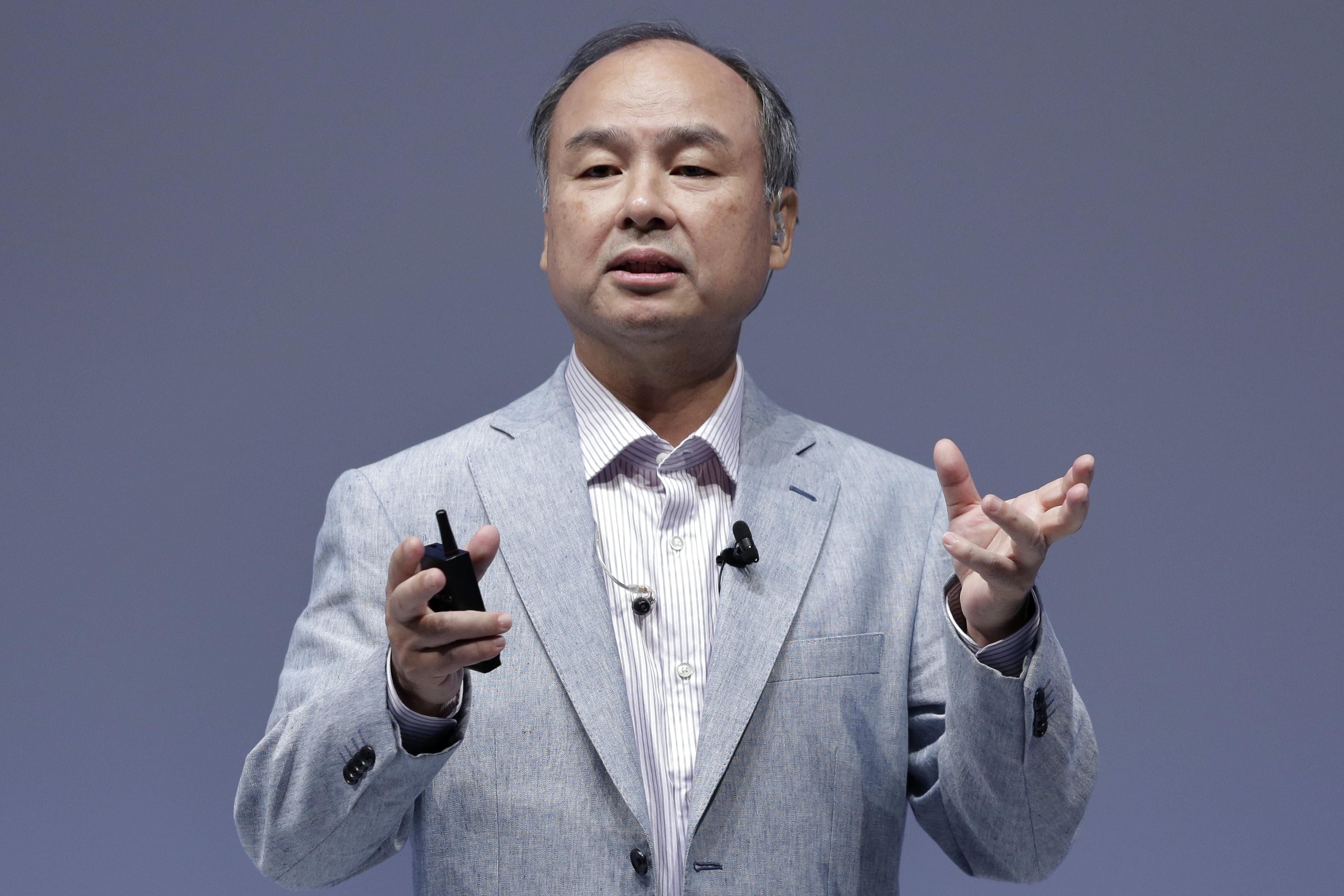 masayoshi son, ceo softbank, act consulting