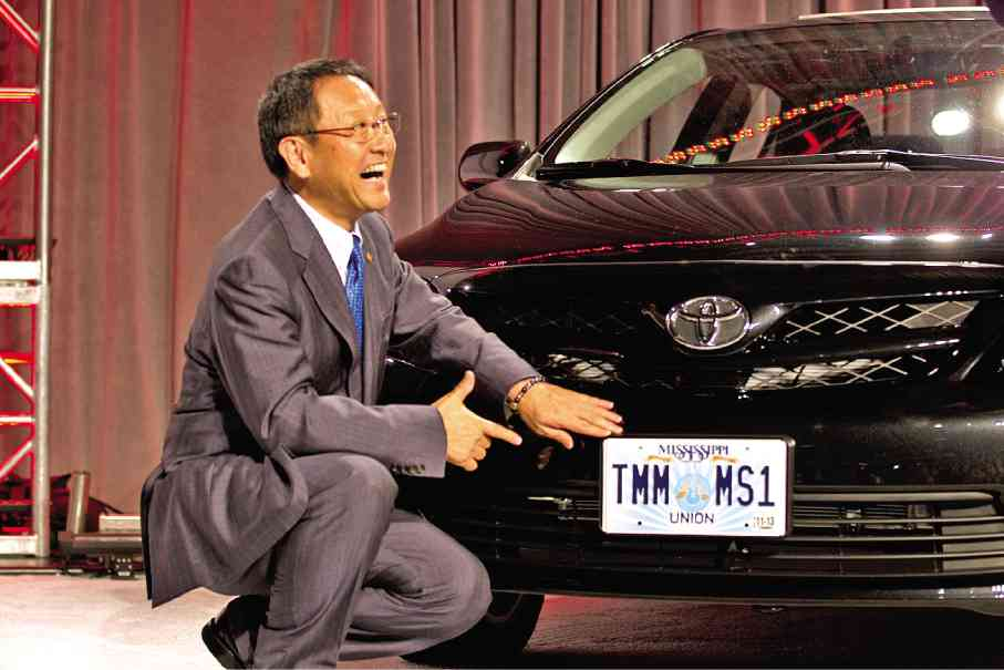 akio toyoda, president toyota motor coporations, act consulting