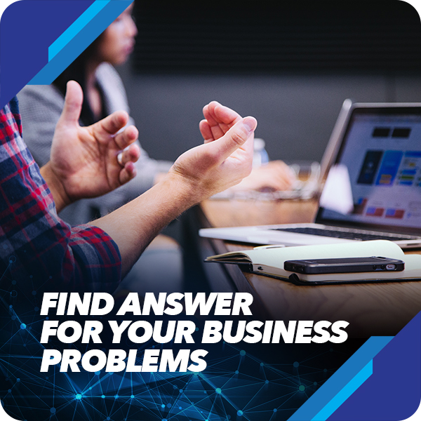 Find Answer For Your Business Problems, design your business now training, act consulting, business innovation, ary ginanjar agustian