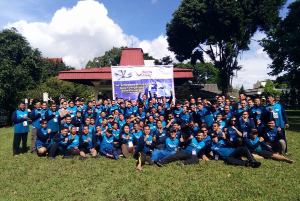 Toyota Indonesia, outbond character building, act consulting, esq training, esq group, ary ginanjar agustian, dadang suhendar