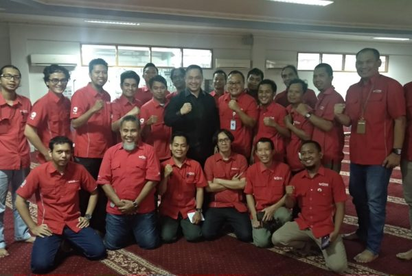 seminar spiritual revival and meaning of work, tv one, pt visi media asia, act consulting