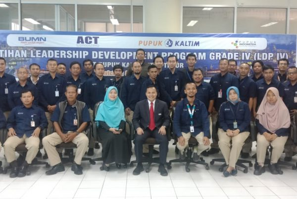 leadership development program, pt pupuk kaltim, act consulting