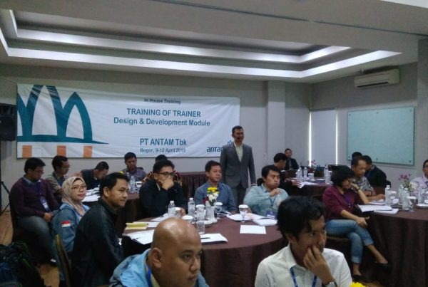 training of trainer, sertifikasi trainer, pt antam tbk, act consulting