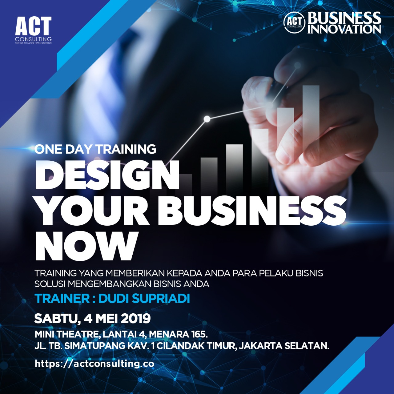 design your business now, business innovation, act consulting, ary ginanjar agustian