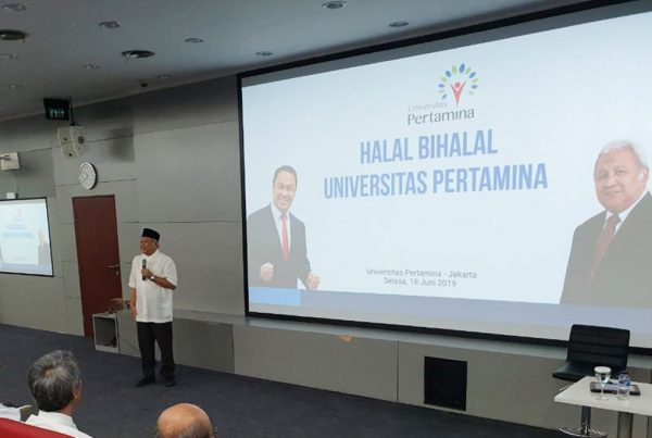 Workshop-Halal-Bihalal-Universitas-Pertamina-di-Juni-2019